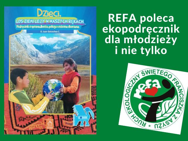 REFA poleca ekopodręcznik dla młodzieży i nie tylko